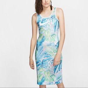 NWT Nike Ultra Femme Floral Tropical Midi Dress
